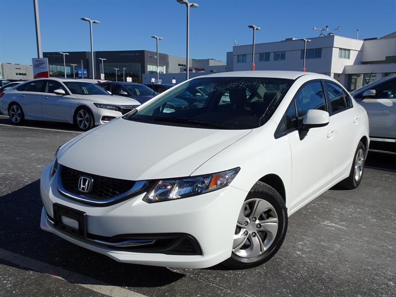2013 Honda Civic Sedan LX AT! Balance Of Factory Warranty! #B12396