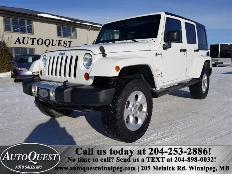 2013 Jeep Wrangler Unlimited Sahara 3.6L 4X4 #1229