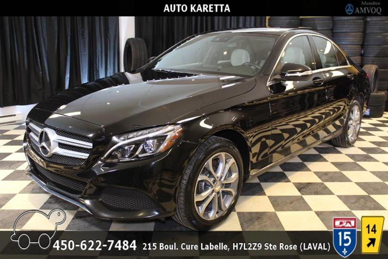 Mercedes-Benz C-Class 2015 C300 4MATIC, NAVI, TOIT PANO, CAMERA, LED #AS9025