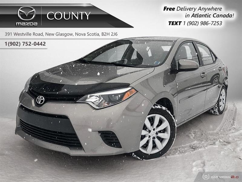 2014 Toyota Corolla LE! AUTO! HEATED SEATS! REVERSE CAM! CRUISE! A/C! #U5148