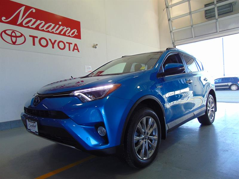 2016 Toyota RAV4 Hybrid AWD Limited with Technology #20684AXH