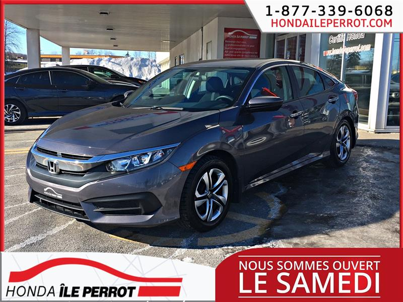 Honda Civic Sedan 2016  CVT LX APPLE CAR PLAY  #44884