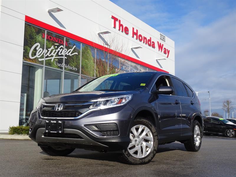 2015 Honda CR-V SE 4WD Under warranty until 2022/160,000 - BLUETOO #19-258A