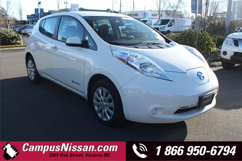 2016 Nissan Leaf | S | FWD w/ Quick-Charge #JN3162