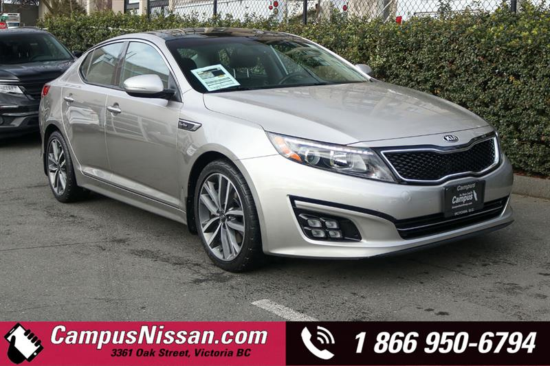 2014 Kia Optima | SX | Turbo | FWD w/ Navigation #9-U099A