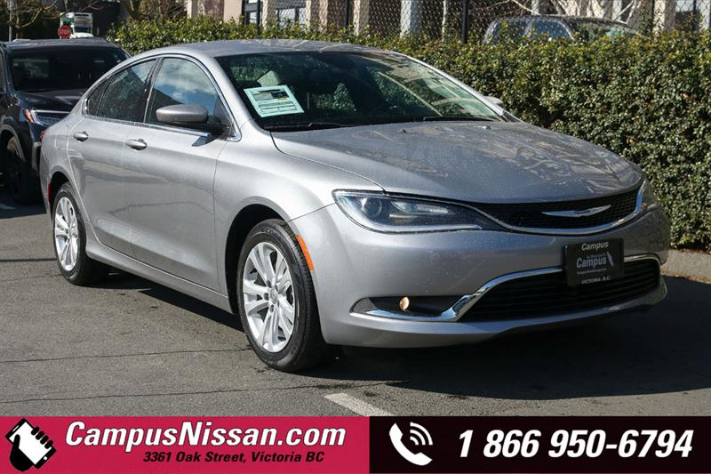 2016 Chrysler 200 | Limited | FWD w/ Reverse Camera #9-G174A