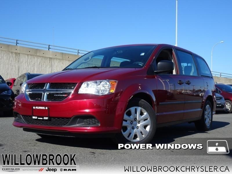2016 Dodge Grand Caravan Canada Value Package #19UP54A