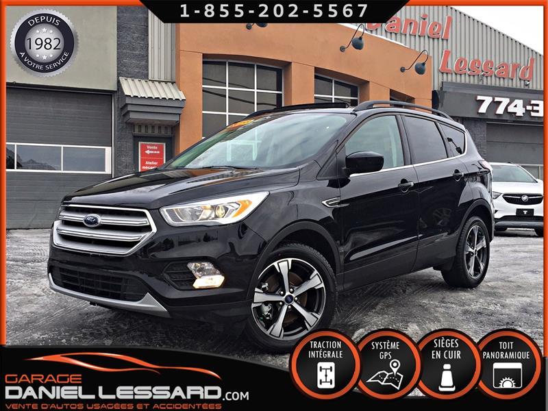 Ford Escape 2018 SEL AWD, 1.5 L ÉCOBOOST, GPS ET+, LÉGER DOMMAGES!  #89081