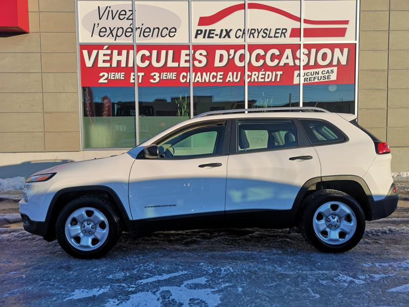 2016 Jeep Cherokee FWD 4dr Sport+GROUPE TEMP FROID #UD5139