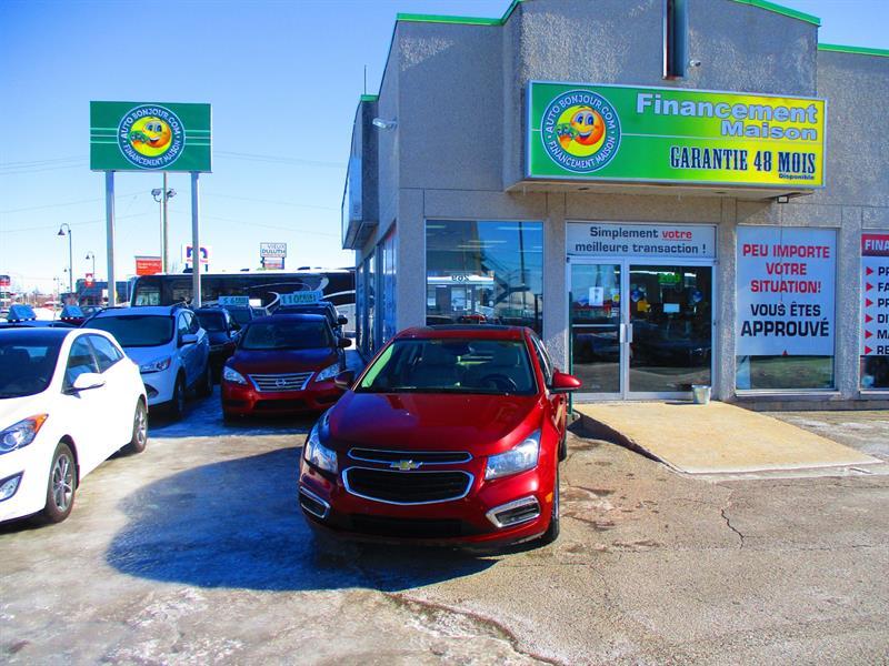 Chevrolet Cruze 2015 4dr Sdn 2LT #19-018