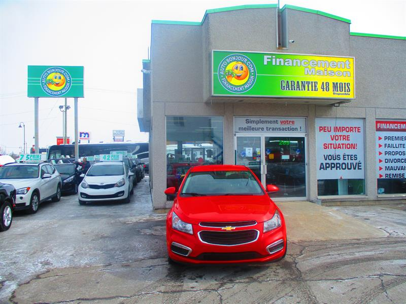 Chevrolet Cruze 2015 4dr Sdn 1LT #19-019