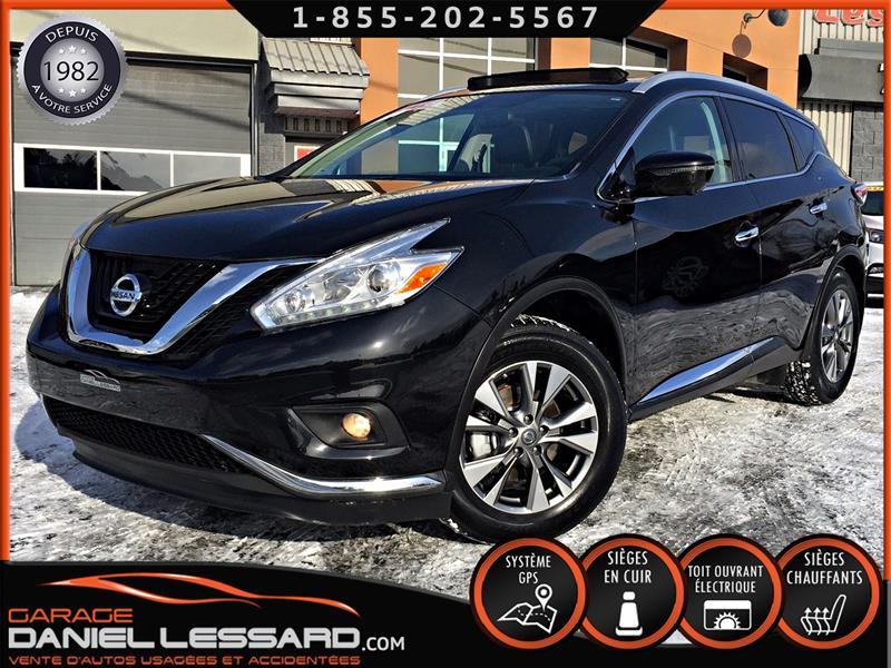Nissan Murano 2016 SL, AWD, CUIR, TOIT PANO, GPS MAG 18 P #68166