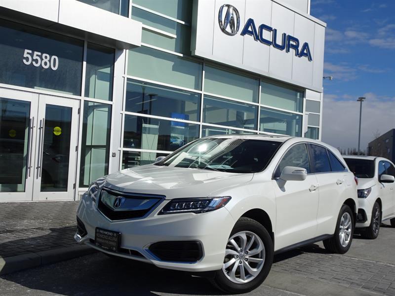 2017 Acura RDX Tech Acura Certified #937452A