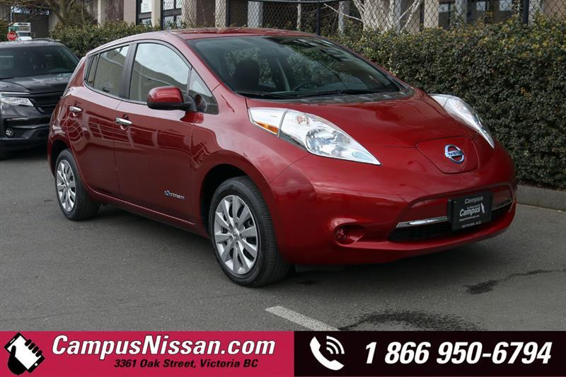 2013 Nissan Leaf | S | FWD w/ Quick-Charge #9-F188A