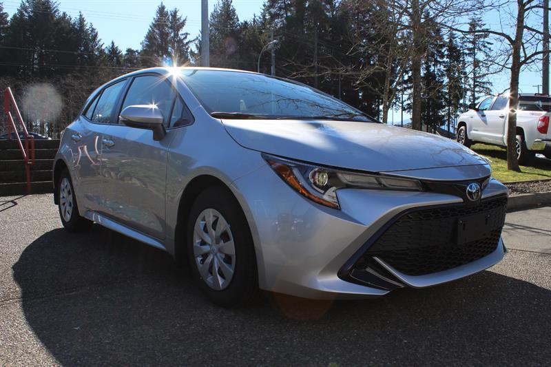 2019 Toyota Corolla Hatchback Standard Package #12102