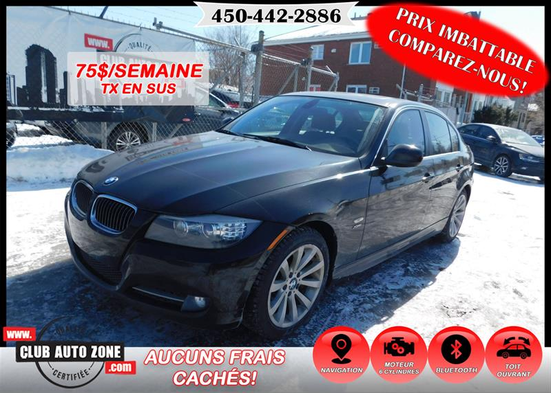 BMW 3 Series 2011 335i AWD BLUETOOTH TOIT OUVRANT #BA742002