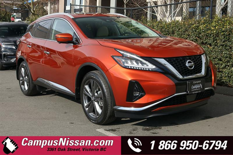 2019 Nissan Murano Platinum AWD w/ Leather & Moonroof #9-Q205