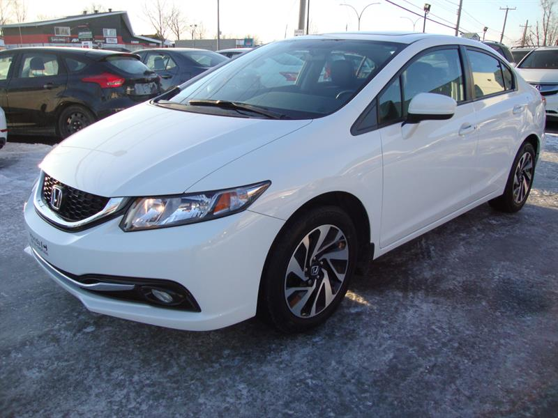 Honda Civic Sedan 2015 Touring NAV-TECH-CUIR-TOIT-MAGS #M001
