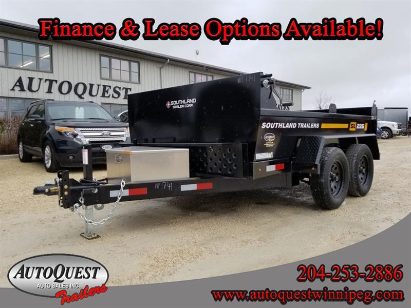 2020 Southland SL235T 6' x 10' Utility Dump Trailer