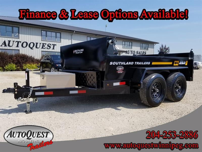 2019 Southland SL252T 6' x 10' Utility Dump Trailer