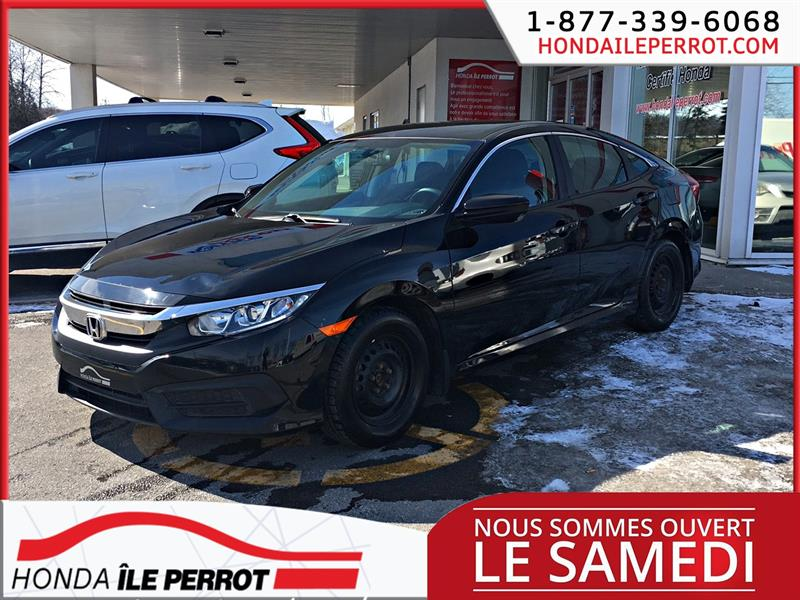 Honda Civic Sedan 2016  CVT LX PNEU ETE PNEU HIVERS #44894