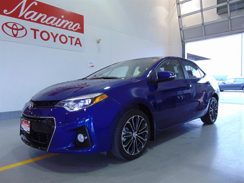 2016 Toyota Corolla S Upgrade with Technology Package #20699A