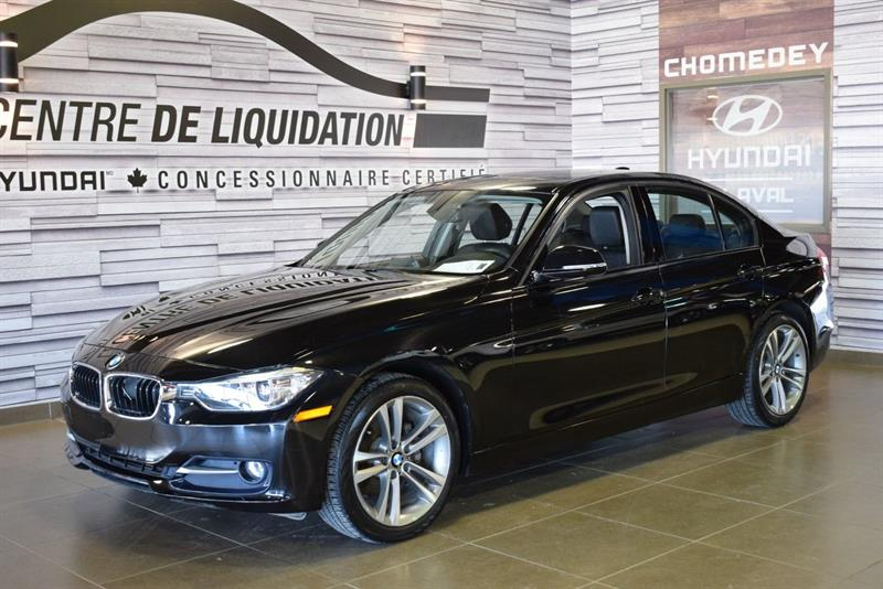 2014 BMW 3 Series 320i xDrive+SPORTLINE+TOIT+MAGS+CUIR #S9073