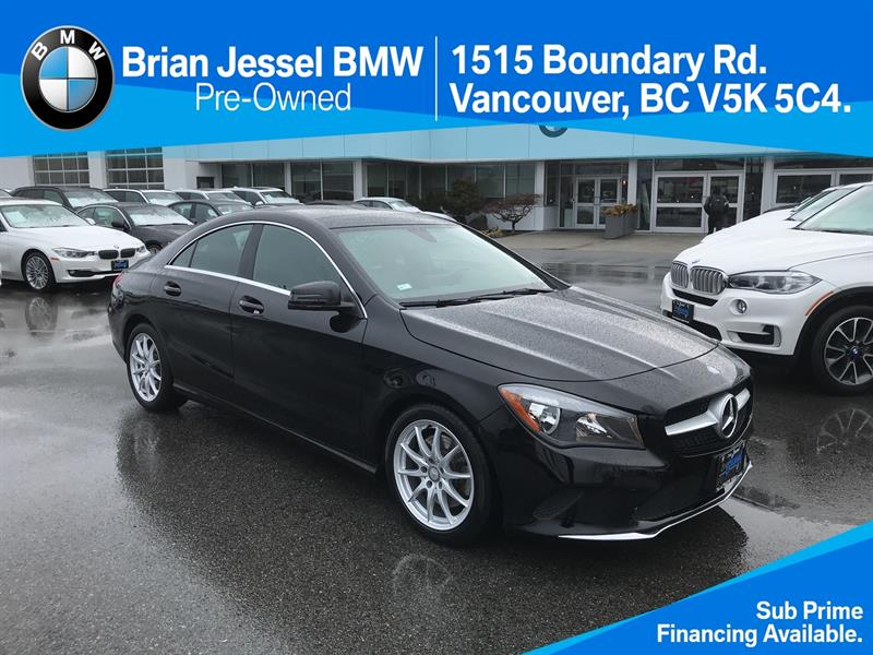 2017 Mercedes-Benz CLA250 4MATIC Coupe #BPS055