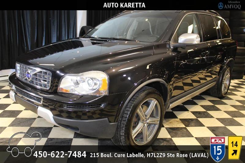 Volvo XC90 2011 XC90 3.2 AWD Level III R-Design, 7 PASSAGERS, CUIR #AS9017