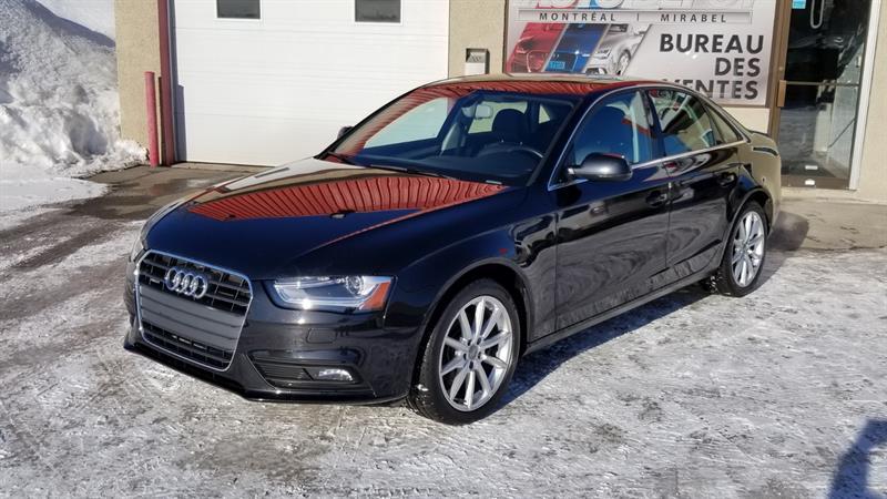 2014 Audi A4 2.0T PROGRESSIV QUATTRO #6118