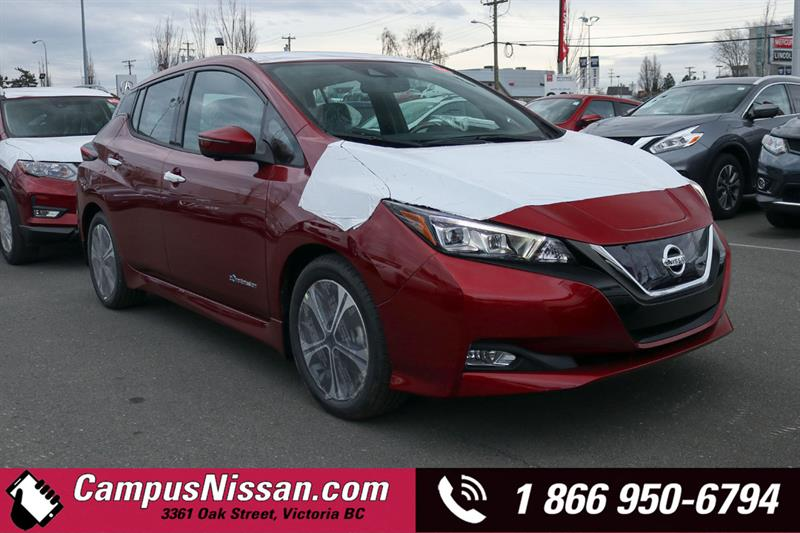 2019 Nissan Leaf SL FWD w/ Leather Interior #9-F184