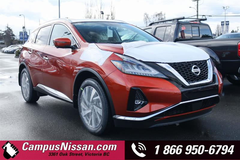 2019 Nissan Murano SL AWD w/ Leather & Moonroof #9-Q249