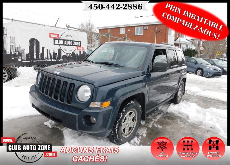 Jeep Patriot 2008 SPORT 4X4 MANUELLE AIR CLIMATISÉ #8D579468