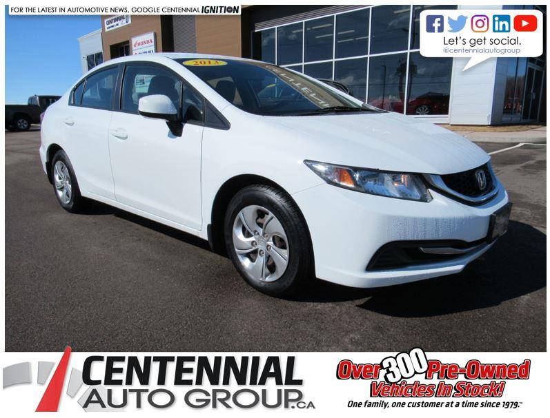 2013 Honda Civic Sdn LX Automatic #STK107691