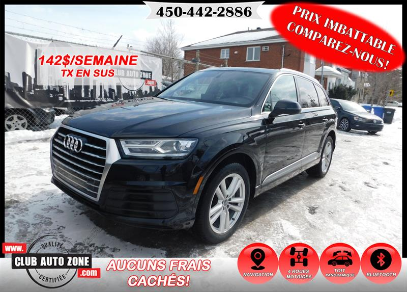 Audi Q7 2017 PROGRESSIV QUATTRO S LINE NAVIGATION BLUETOOTH #HD004478