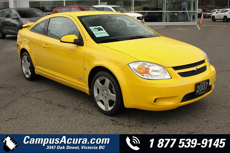 2007 Chevrolet Cobalt 2dr Cpe SS #AC0946A