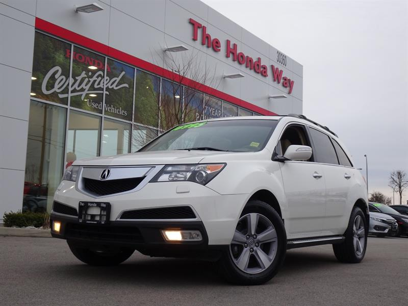 2013 Acura MDX 6-Spd AT w/Tech and Entertainment Package #P5325