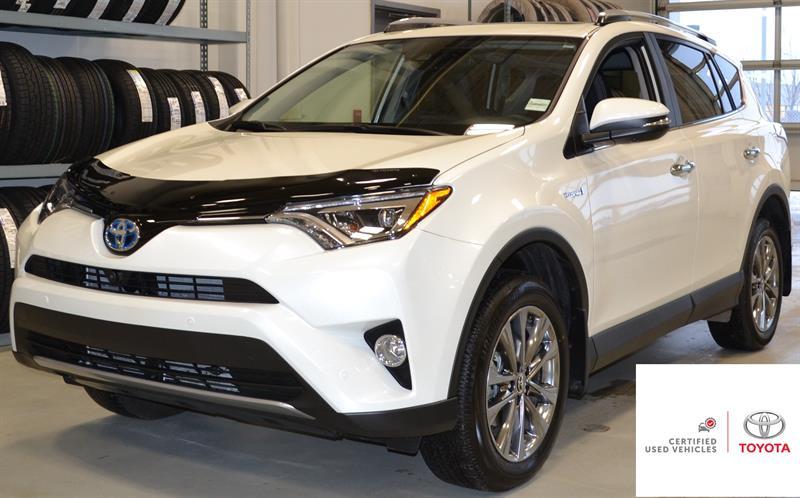 2018 Toyota RAV4 AWD Hybrid Limited #P1273