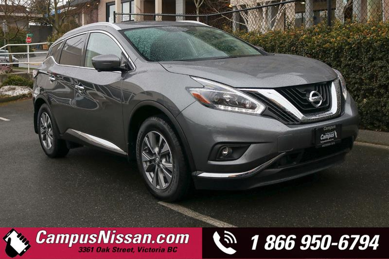 2018 Nissan Murano SL AWD w/ Leather & Moonroof #8-Q346