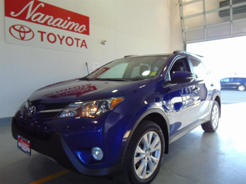 2015 Toyota RAV4 AWD Limited with Technology #20749AX