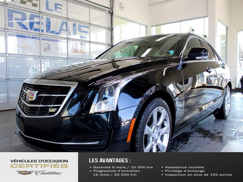 Cadillac ATS Sedan 2015 LUXURY AWD #C907023B