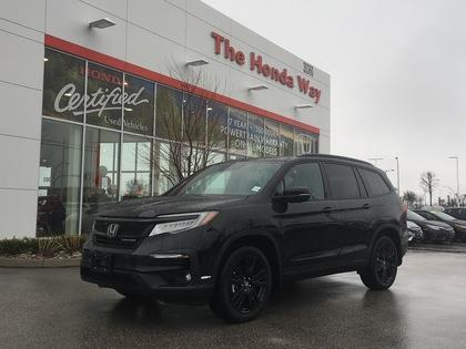 2019 Honda Pilot Black Edition 7P 9AT #19-372