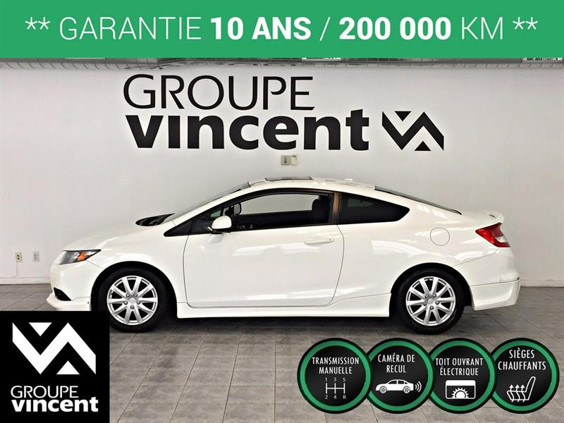 Honda Civic 2013 Si**GARANTIE 10 ANS** #G6242AM