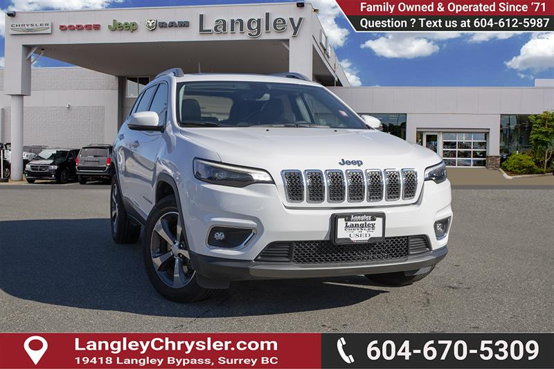 2019 Jeep Cherokee Limited #EE901170