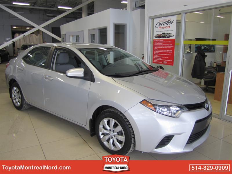 Toyota Corolla 2014 LE CVT Aut/Ac/Vitres,Portes,Miroirs Electriques  #3613 AT