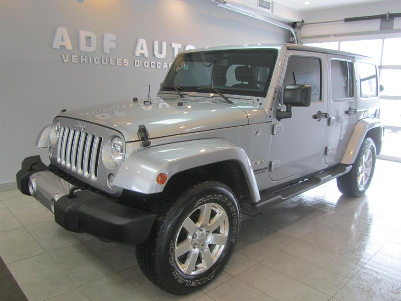 Jeep Wrangler Unlimited 2016 UNLIMITED SAHARA NAVIGATION 2 TOITS #4432