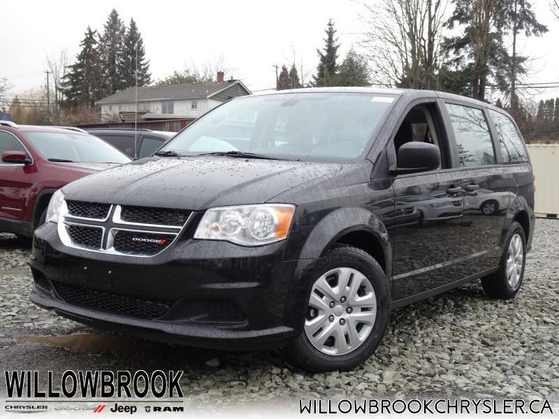 2019 Dodge Grand Caravan Canada Value Package #19M53