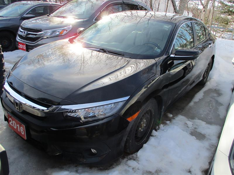 2016 Honda Civic Sedan 4dr CVT Touring #GH107673A
