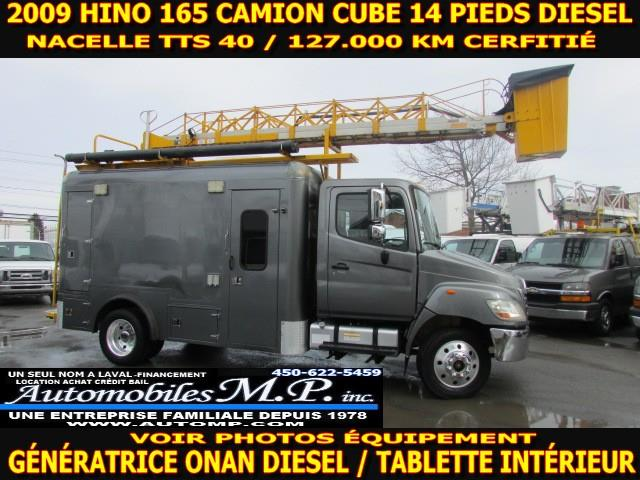 Hino 165 2009 CUBE 14 PIEDS NACELLE TTS 40 #0600