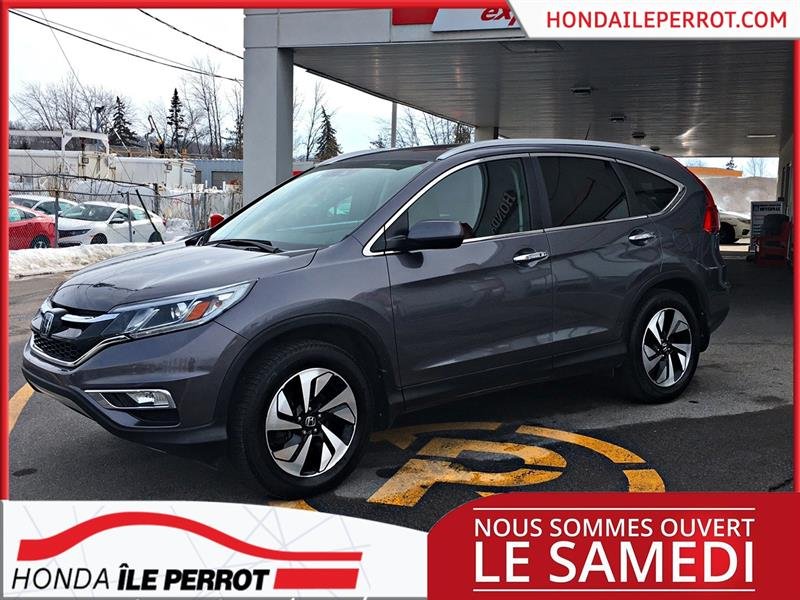 Honda CR-V 2016  AWD, TOURING , CAMERA , CUIR , WOW  #44897